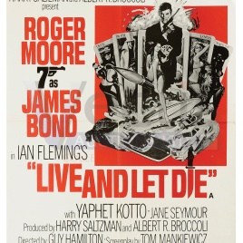 Live And Let Die © 1973 Danjaq, LLC and United Artists Corporation. All rights reserved.