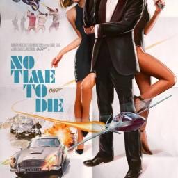 "Alternatywny plakat do ""No Time To Die"" – Thrice Champion"