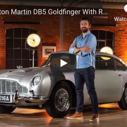Aston Martin DB5 – wersja Goldfinger.