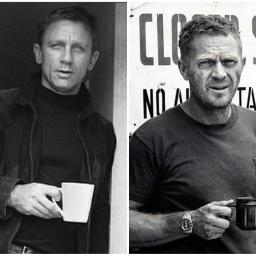 Daniel Craig vs Steve McQueen