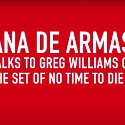Ana De Armas – fantastyczny film z planu od Grega Williamsa